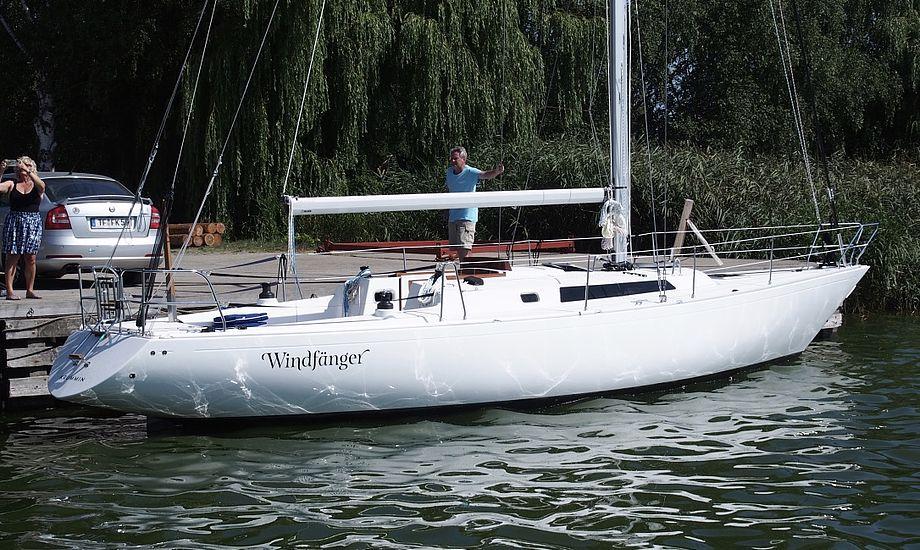70'er-båden genoplives på et værft i Tyskland. Foto: Hans-Peter Johansen