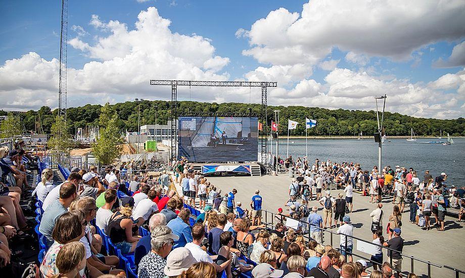 VM blev arrangeret af Sailing Aarhus, Sport Event Denmark, Aarhus Kommune, Region Midtjylland og Dansk Sejlunion. Foto: Troels Lykke