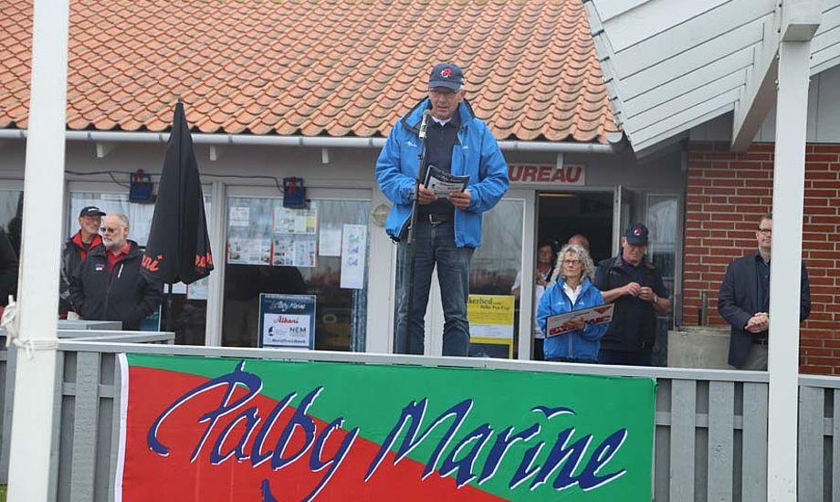 Poul Erik Nielsen er ikke genansat som havnefoged, men nu er han igen formand for den fynske sejlklub. Foto: Troels Lykke