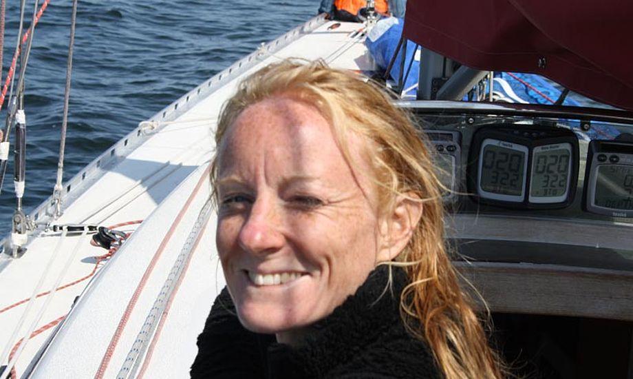 Line Markert vil bl.a. arbejde for at videreføre sejlsporten som det naturlige og attraktive valg af fritidsinteresse. Foto: Line Markert