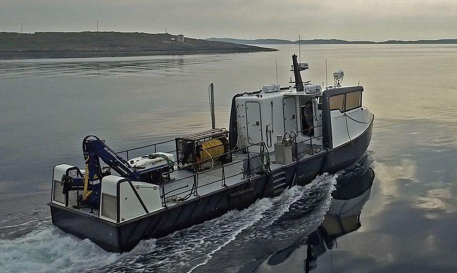 Cockpitlayoutet i arbejdsbådene er indrettet til at maksimere brugen af state-of-the-art operationsstyring og situationsbevidste elektroniske hjælpemidler. Foto: Tuco Marine