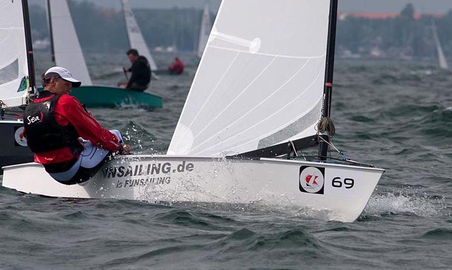 Den forsvarende verdensmester tyske Andre Budzien til VM i 2012. Arkivfoto