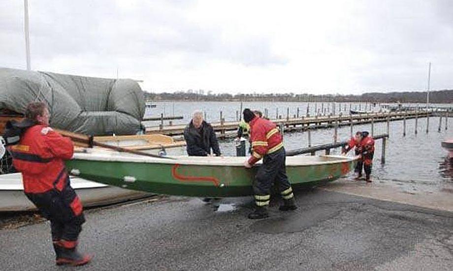 Kommunikationen svigtede under redningsaktionen i Præstø. Foto: Alarm112danmark.dk