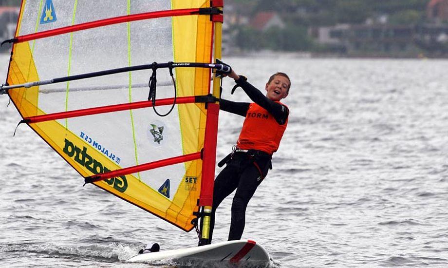 Der er kun 30 pladser til windsurfercampen i Middelfart i efterårsferien. Foto: Middelfart Sejlklub