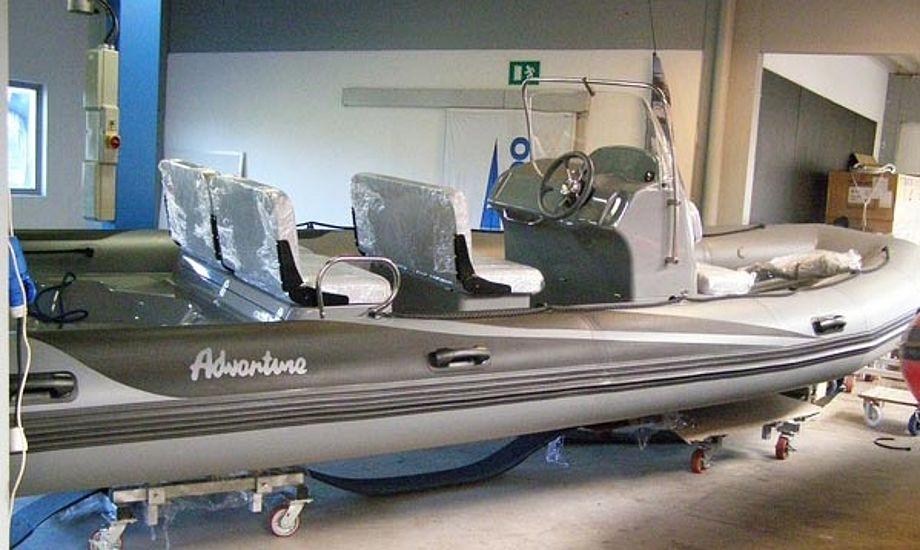 Du kan se de nye RIBs på Bådemessen i Egå i den kommende weekend. foto: Baadhuset