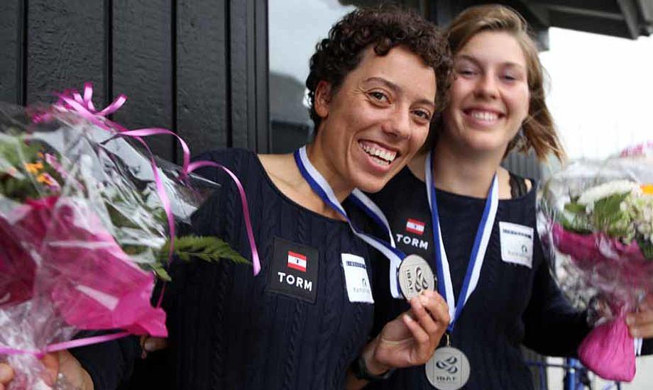 49erFX besætningen Marie Thusgaard Olsen og Ida Marie Baad Nielsen. Foto: Troels Lykke
