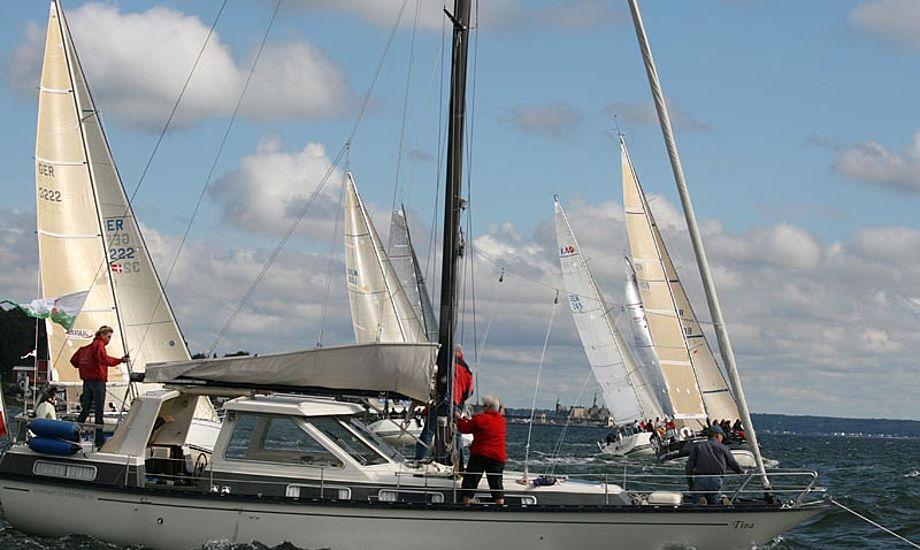 Fredagen bød på en distance sejlads på lidt over 40 sømil. Foto: Gert Toft/ Pantaenius