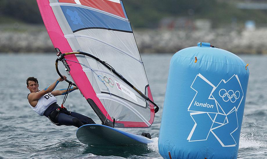 Sebastian Fleischer blev årets mandlige talentfulde sejler i 2012. Foto: Dansk Sejlunion