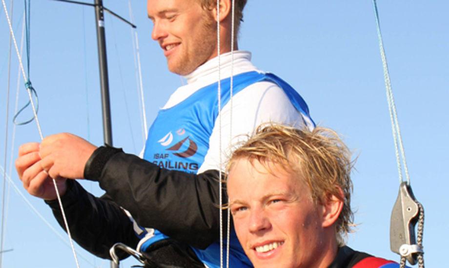 Nørregaard og Lang på 49er