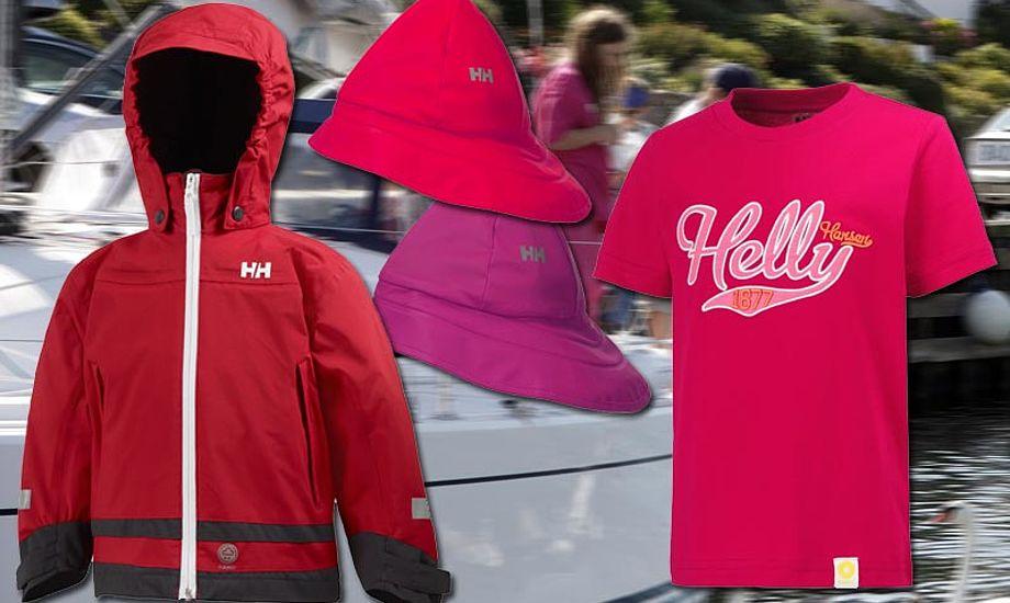 Helly Hansen børnesejlertøj