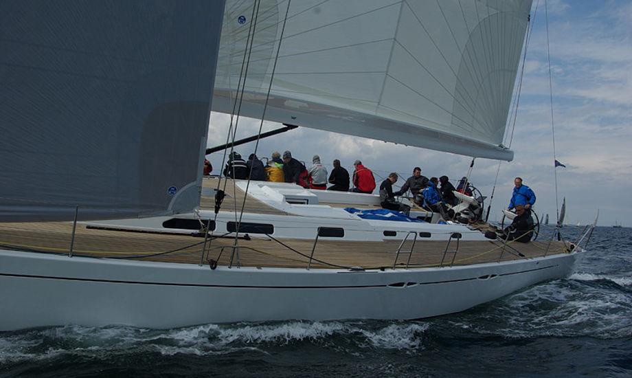 X-65er under Palby Fyn Cup. Foto: Troels Lykke