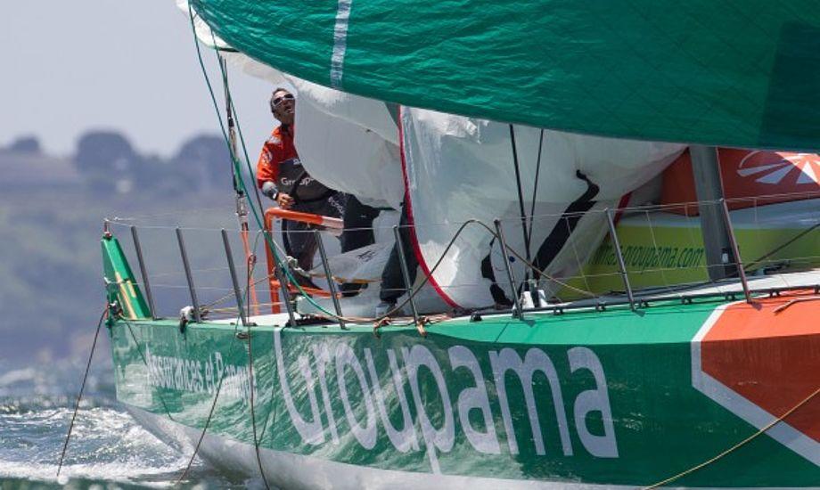 Groupama havde den hurtigste båd og de udviklede sig under Volvo Ocean Race, siger Dolmer. Foto: Volvo Ocean Race