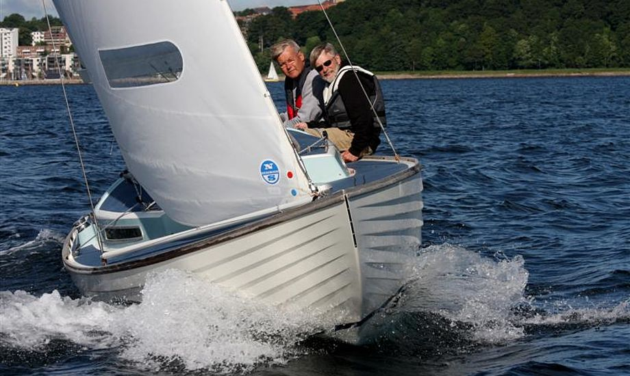 De tidligere vindere, Jens Budtz og Carsten Sørensen vandt igen første etape af AFI Marine Two Star. Foto: Pantaenius/Niels Kjeldsen