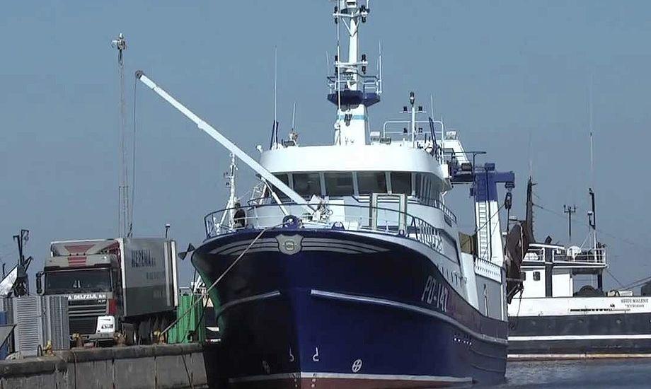 En tragisk ulykke har ramt fiskerne i Thyborøn. Foto: YouTube