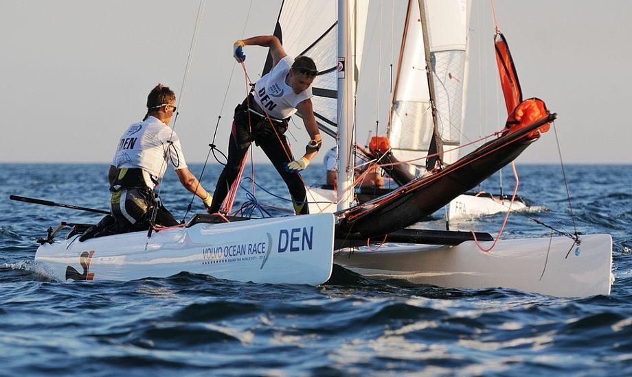De skrappe brødre Bjørnholt fra Middelfart. Foto: Dave Kneale/Volvo Ocean Race