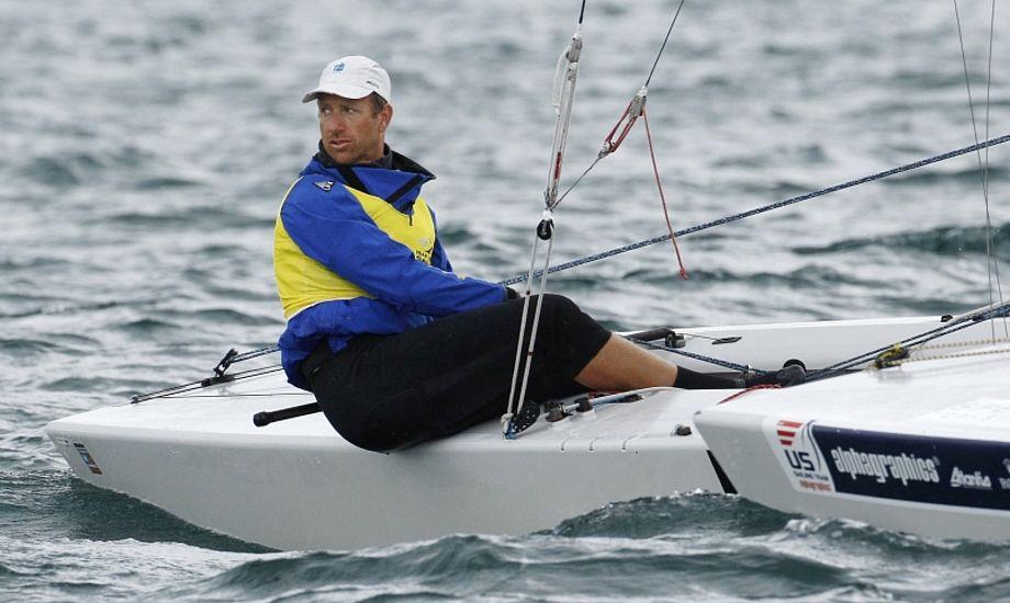 Starbåden med Frederik Lööf, modsat Danmark, så har svenskerne nu mistet en oplagt OL-medalje i 2016. Foto: SSF