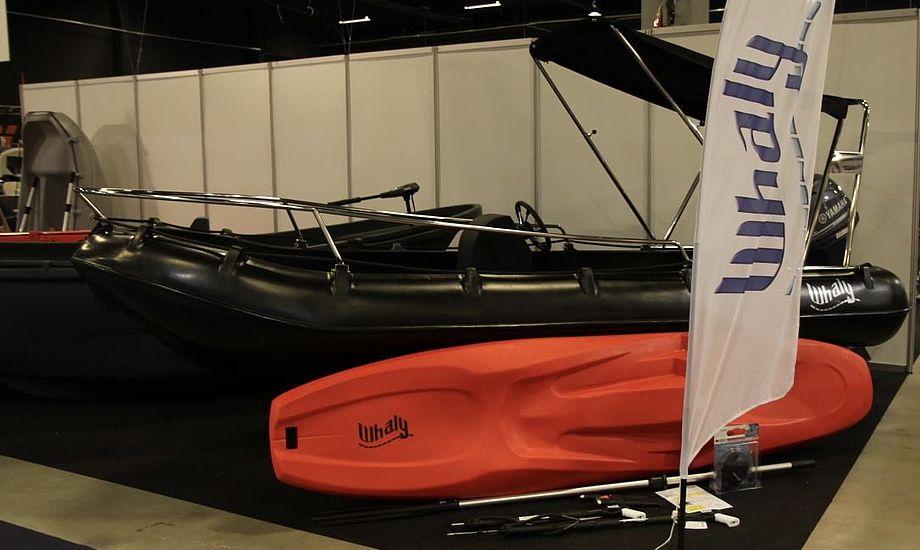 Se blandt andet denne Whaly 435 på Boat Show i hal D. Foto: Sara Sulkjær