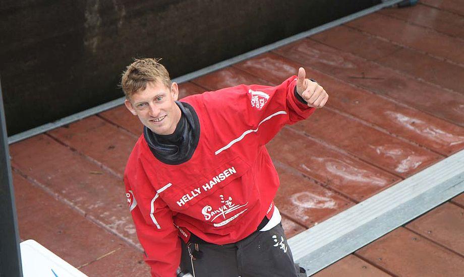 Martin Kirketerp sejlede blandt andet over Atlanten med Sanya. Her ses han i Galway. Foto: Troels Lykke