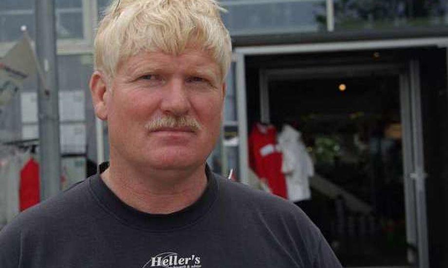 Peter Heller har flere produkter han selv importerer til din butik i Kastrup. Foto: Troels Lykke
