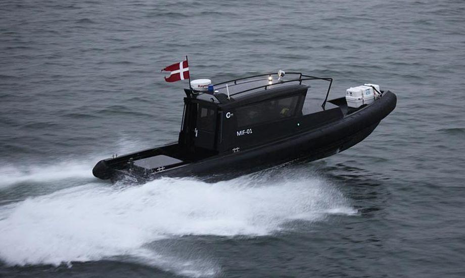 Det danske Marinehjemmeværn har valgt TUCOs C-Guard 9,3 Full Cabin til sit pilotprojekt for nye indsatsfartøjer. Foto: TUCO
