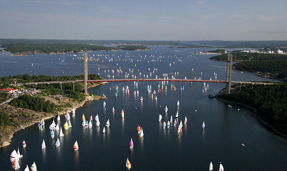 Tjørn Rundt er en klassisker i Sverige. Selv Jesper Bank er helt vild med sejladsen nord for Gøteborg.