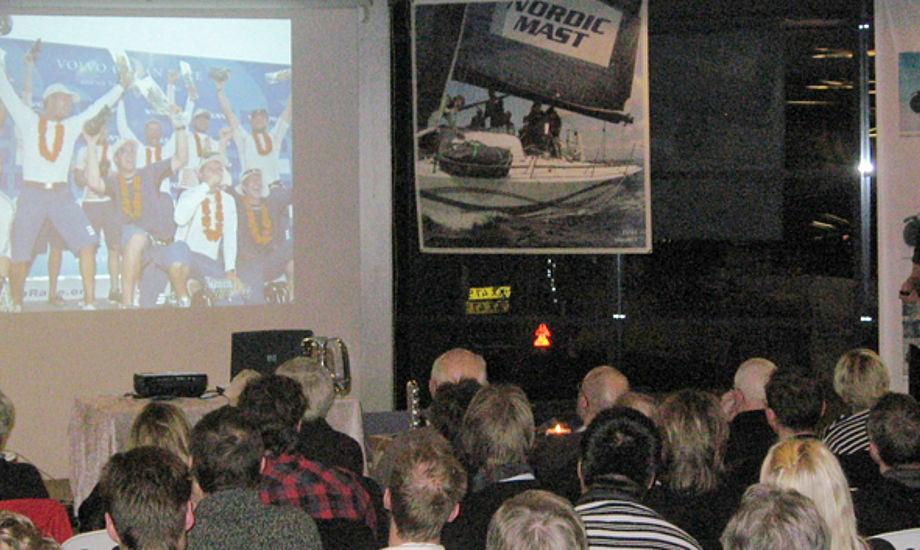 Jens Dolmer fortæller om livet på Ericsson 3 i Volvo Ocean Race.