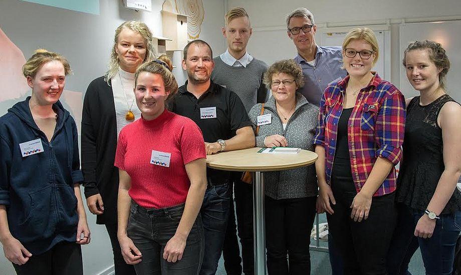 Ungdomsnetværket blev stiftet på Klubkonferencen med valg af en bestyrelse. Foto: Flemming Ø. Pedersen/Dansk Sejlunion