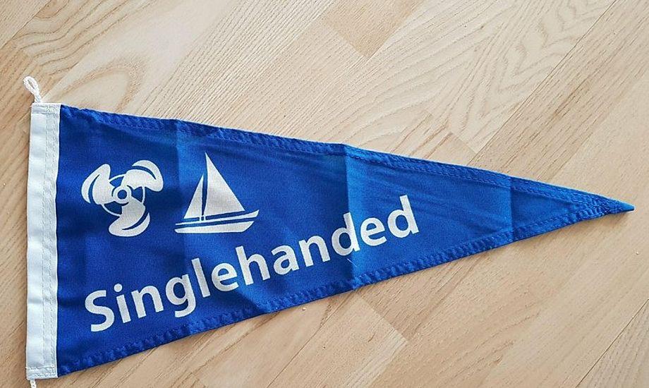 Flaget for solo-sejlere kan orientere politiet, hvis de finder båden forladt. Foto: Troels Lykke