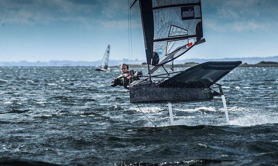 På kort tid lykkedes det Middelfart Sejlklub at stable weekendens DM på benene. Foto: Nikolaj Schwaner