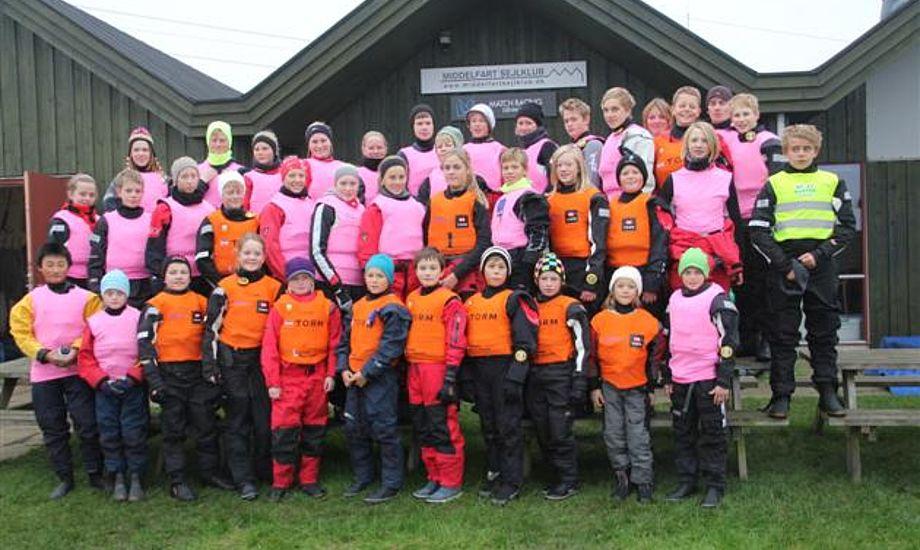 Billedet er fra Fredericia Sejlklubs vintertræning. www.fredericia-sejlklub.dk