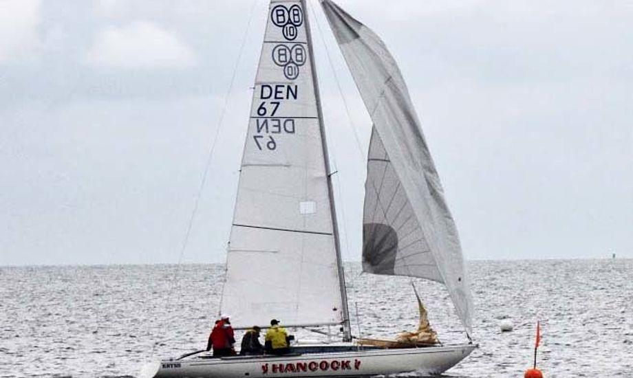 BB 10-meter-sejler Søren Koitzsch skipper fra Skive Sejlklub, er en af Limfjordens konger.