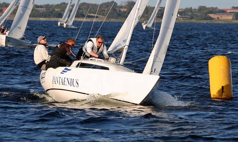 Steffen Stegger, Lars Christiansen og Carsten Pedersen har før vundet VM i H-båd. Foto: Ricky Hansen