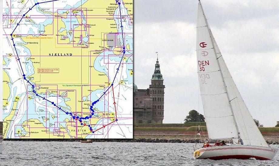 Distancesejlads - er du på, eller er du pas? Foto: sjaellandrundt.dk