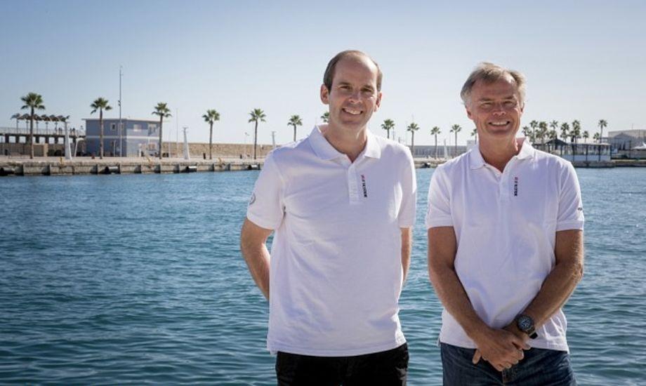 Under sidste Volvo Ocean Race stod Richard Brisius (t.v.) og Johan Salén i spidsen for kvindeholdet SCA. Foto: Ainhoa Sanchez / Volvo Ocean Race