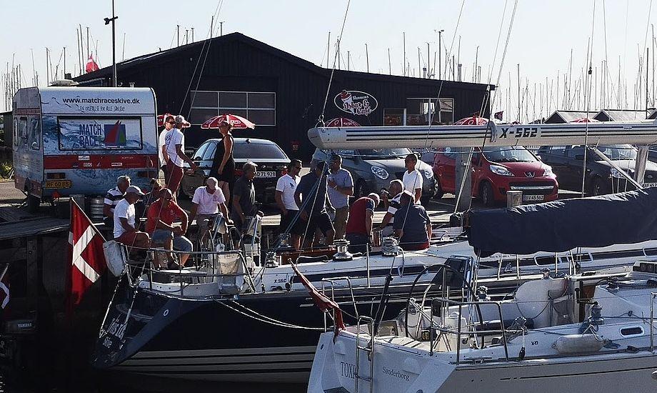 Her ses et foto fra maj i år fra den gamle havn i Bogense. Foto: Troels Lykke