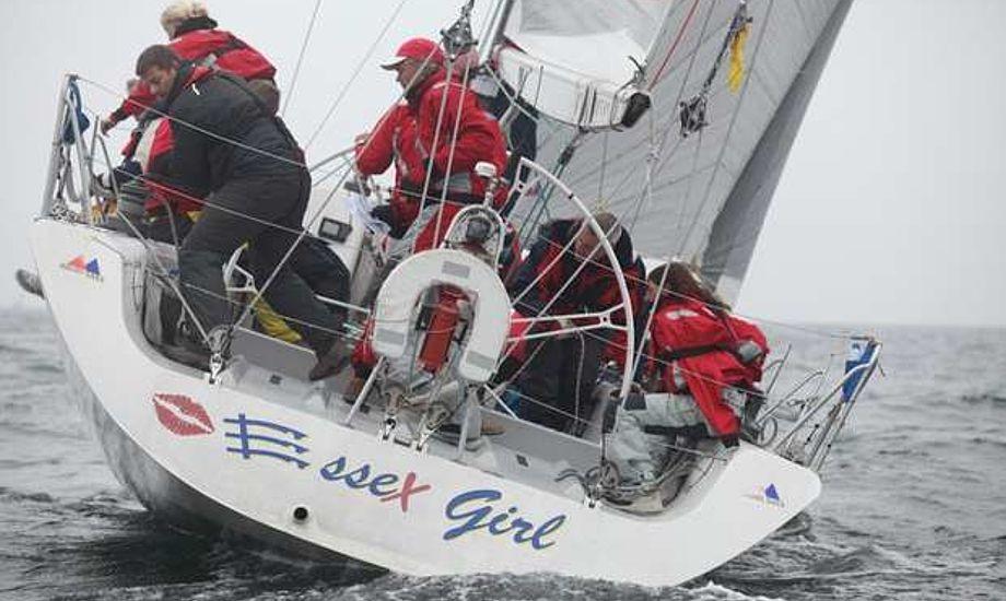 De 28 sømil blev tilbagelagt på ca. seks timer. Essex Girl fik en 4.plads. Arkivfoto: BådNyt