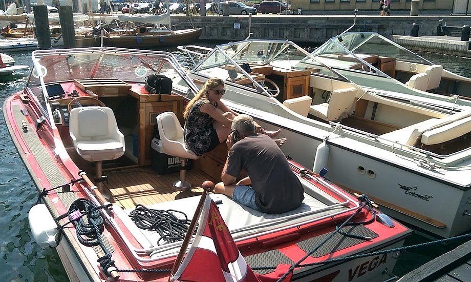 I løbet af cirka 250 små træningsopgaver kommer sejleren rundt om pensum til speedbådsprøven. Foto: Troels Lykke