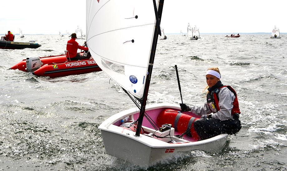 På billedet ses den nykårede vinder af ranglisten Natacha Saouma-Pedersen Foto: Mathias Laugesen