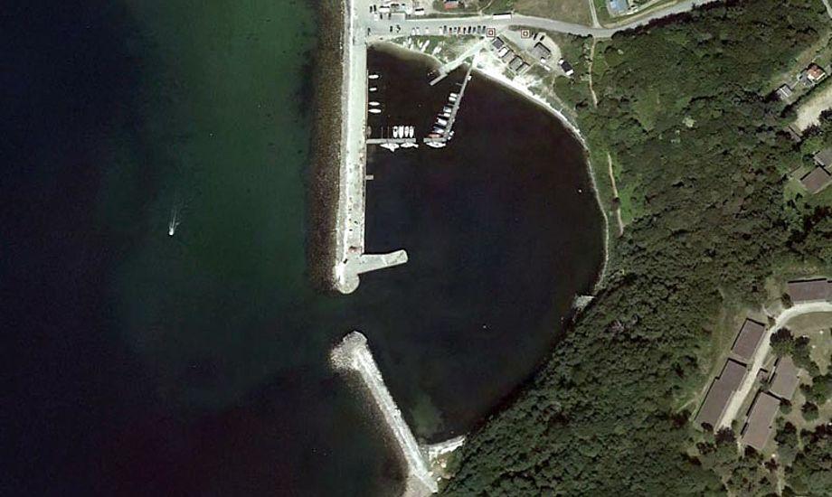 Hammer havn på Bornholm kan prale af ikke mindre end 65 procents fremgang i antallet af besøgende både.