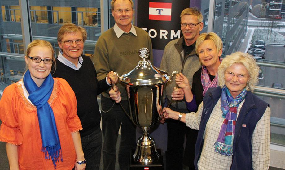 Sådan ser de skrappe klubfolk ud fra Virksund Sejlklub. Foto: Christian M. Borch/ Sejlsport.dk