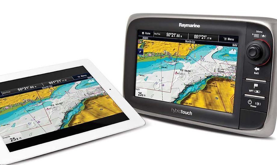 Med den nye app RayControl, kan du også styre plotteren fra en smarttelefon eller en tablet.