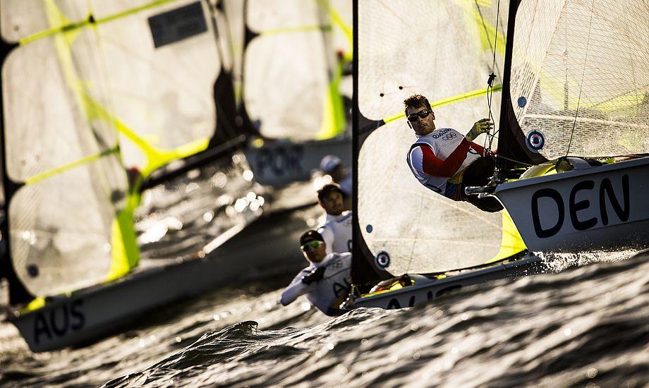 - Jeg glæder mig over, at en dansk by nu skal være vært for et af de store mesterskaber, siger Kronprinsen. Foto: World Sailing