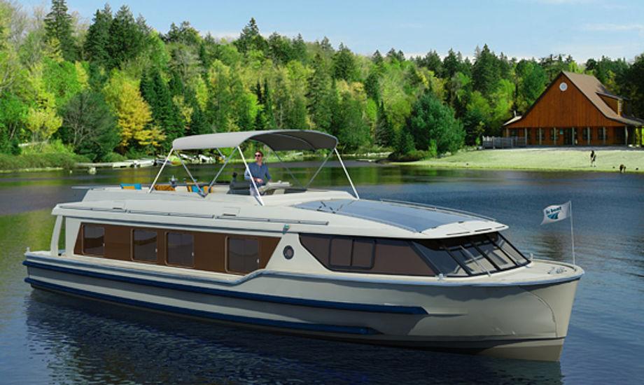 Le Boat 1500 er usædvanlig rummelig, spækket med den nyeste teknologi og klar til kanalsejlads, fortæller Sunway Seatravel.