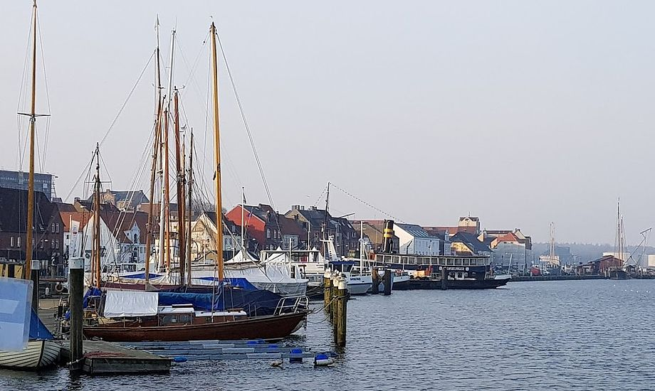 Skat, danske bådforeninger og forsikringsselskaber mener at Club Maritim 09 GmbH ikke følger lovgivningen. Firmaet holder til i Flensborg. Foto: Troels Lykke