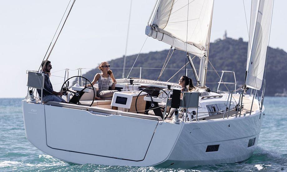 Dufour 360 Grande Large - balance mellem sejlads og komfort