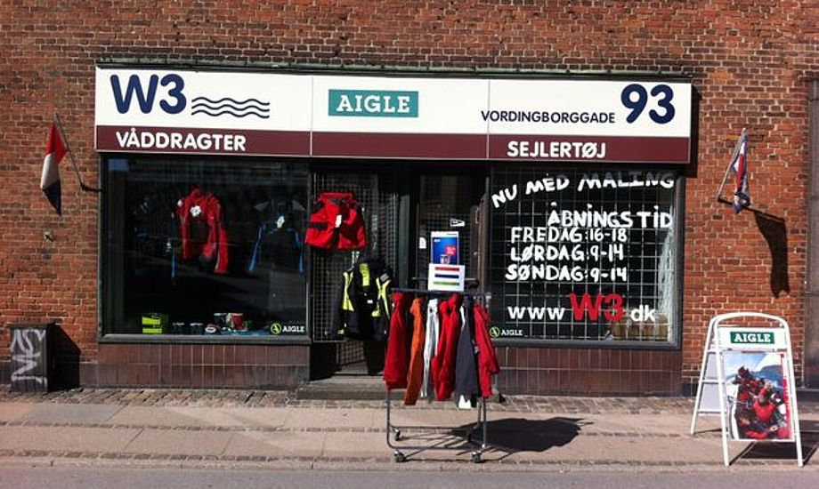 Brødrene Vestergaard lukkede i juni, nu åbner Ryding Maritime på adressen i Vordingborggade. Arkivfoto