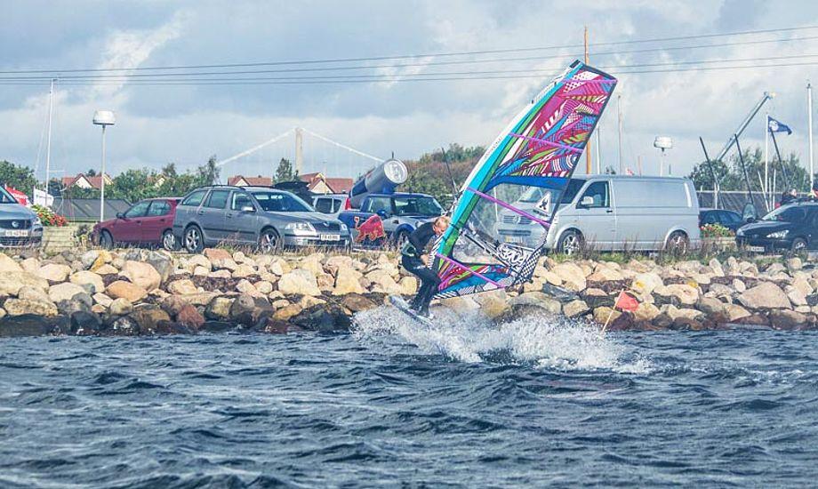 På trods af DMI, blev det godt sejladsvejr alligevel. Foto: Wind Cup 2012