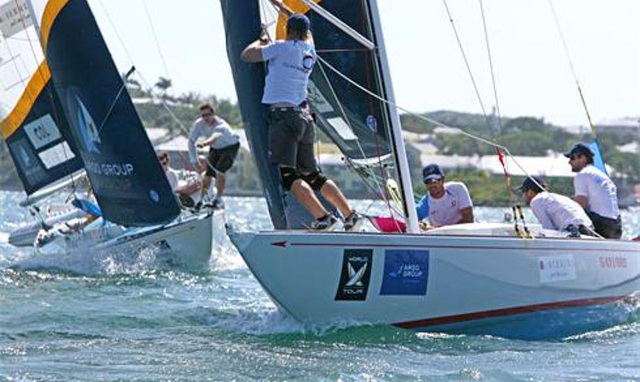 match race på bermuda
