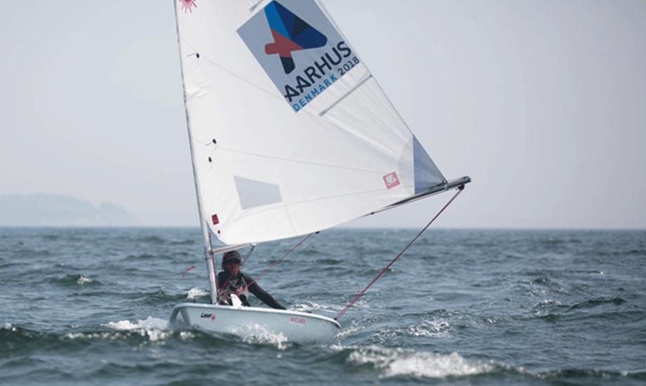 Tilmeldinger til VM i Aarhus 2018 tikker løbende ind, og der er god spredning i de forskellige klasser. Foto: Sailing Aarhus.