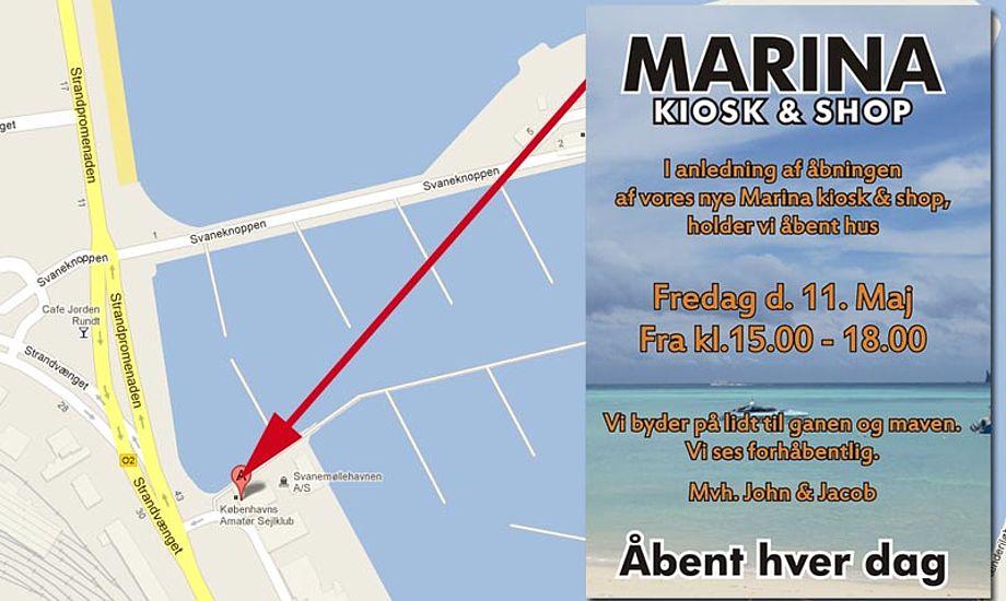 Den nye udstyrsforretning på Svanemøllehavnen holder åbent hus på fredag.